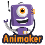 Animaker Logo - Software Review by Tekpon