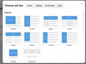 Create online banners review by Tekpon
