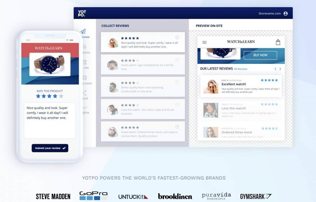 Customer Reviews Feature