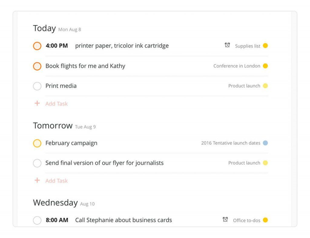 Plan your day with Todoist review Tekpon