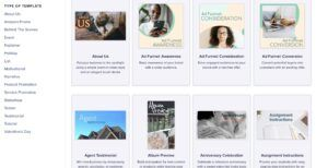 Animoto templates library review by Tekpon