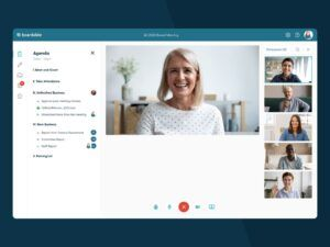 Boardable online meeting tool