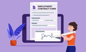Add electronic signature with Google Forms