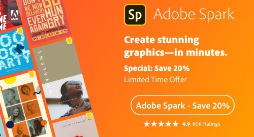 Adobe Spark Exclusive Limited Time Offer