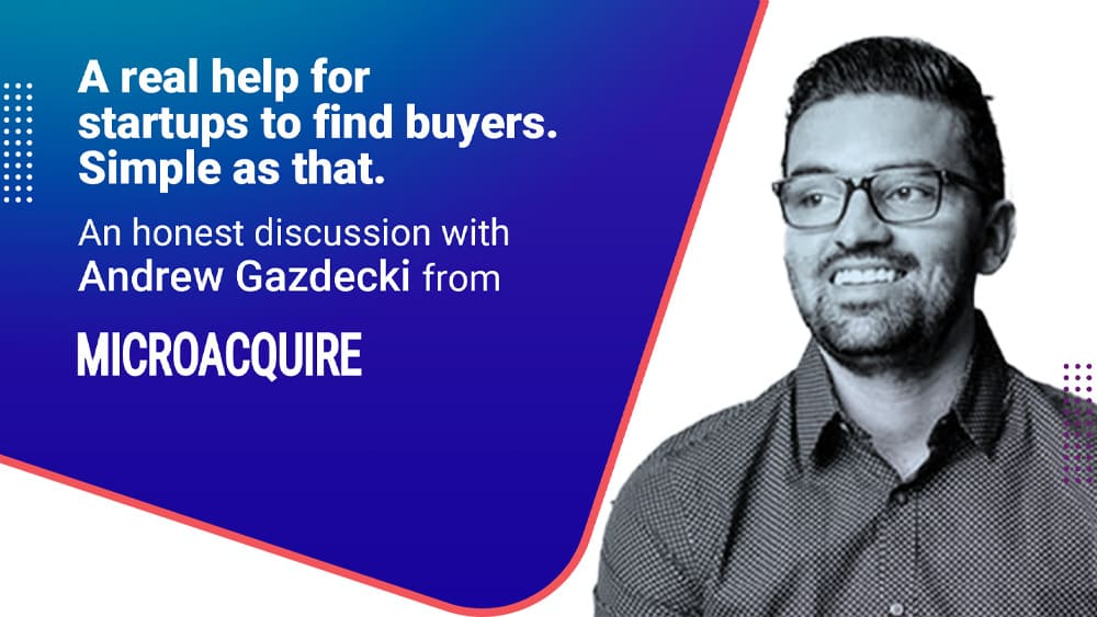 How startups can find buyers with MicroAcquire