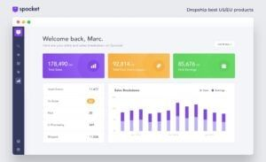 Spocket Dashboard review by Tekpon