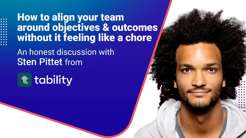 Track your team goals with Tability